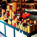 Beeswax candle lights soaps lotions & more