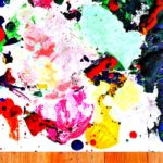 Easy art for children crayon painting babble dabble do