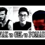 What's the distinction between hair wax & hair paste?