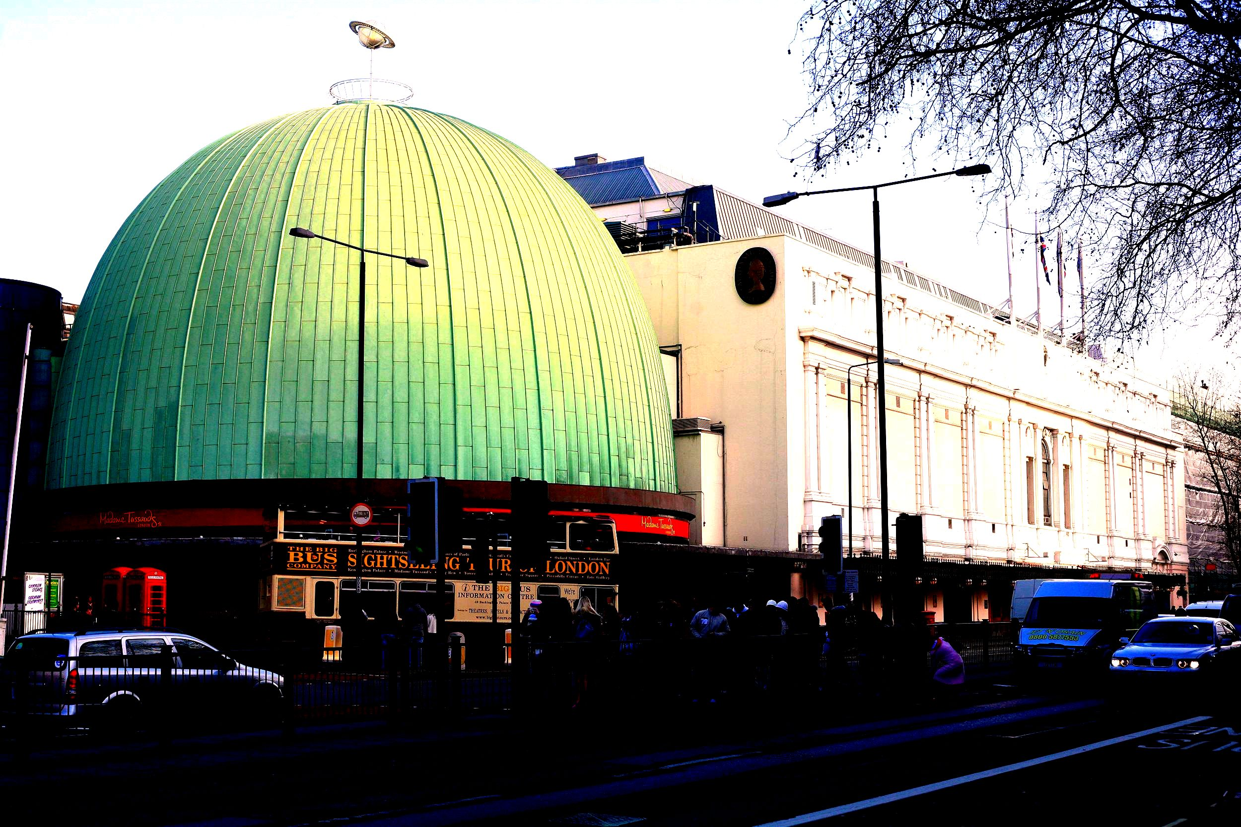 Madame tussauds london location on