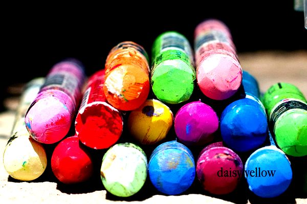About neocolor ii wax crayons Water-resistant, not water-soluble