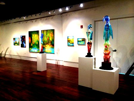 Leslie neumann exhibitions Petersburg, Florida