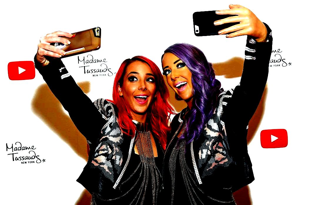 Madame tussauds debuts jenna marbles wax estimate new york city selfies ensue Now, individuals promises could be