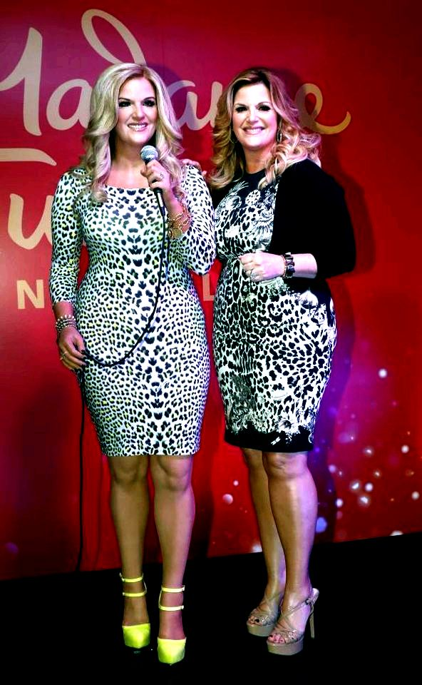 Madame tussauds opens in nashville with trisha yearwood wax figure unveiling [photo gallery] Jazz Wall of Fame