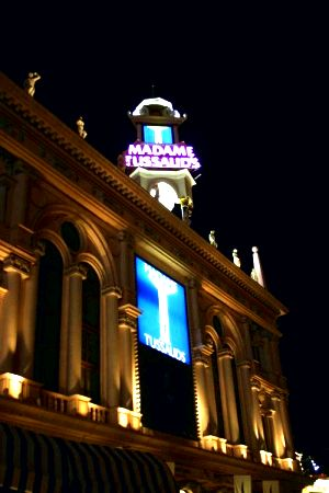 Madame tussauds vegas vegas activities Whenever possible