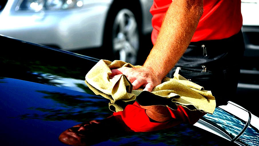 How you can wash and wax your vehicle they start to show how