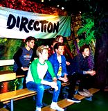 One Direction band at Madame Tussaud wax museum. London. UK Royalty Free Stock Image