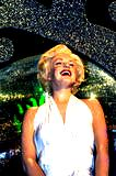 Marilyn Monroe in Madame Tussauds Wax museum in London. Marie Tussaud was born as Marie Grosholtz in 1761 Stock Photo