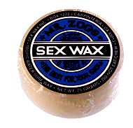 Surf wax marketing and ecological impact use has led to food