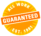 All Work Guaranteed. Est. 1981