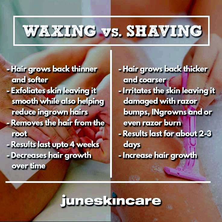 Waxing and shaving tips topical numbing agent like LMX