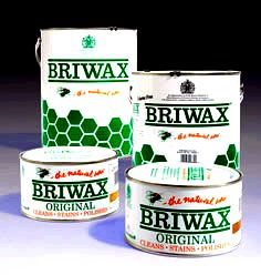 Trg products briwax wax products altering the type