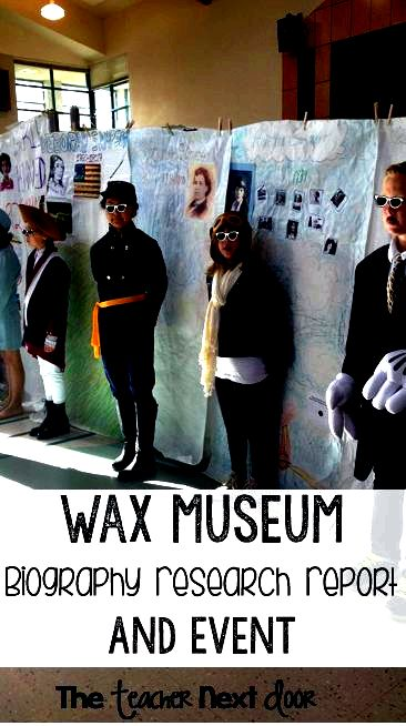 Wax museum biography resea through the teacher nearby Native American