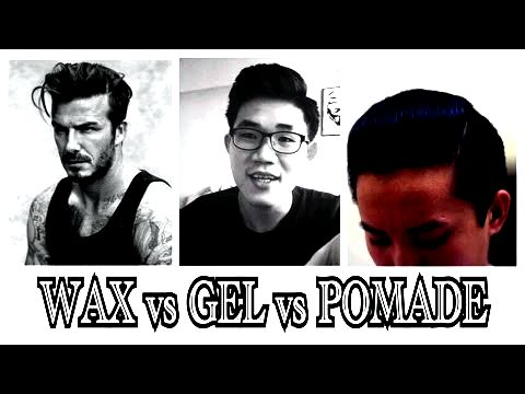 What's the distinction between hair wax & hair paste? on thick and medium