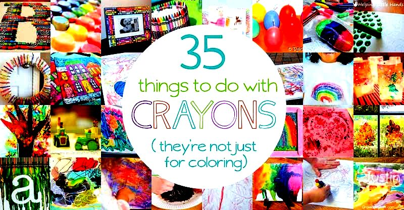 35 uses for crayons - they' /></p>  <p>How about Balloons? Find 30 methods to have fun with balloons!</p>  <p>What you will really use your crayons?</p>  <i>Resourse: http://handsonaswegrow.com/35-kid-activities-with-crayons/</i>