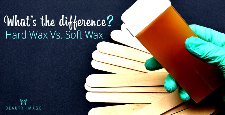What's the distinction between hard wax and soft wax?